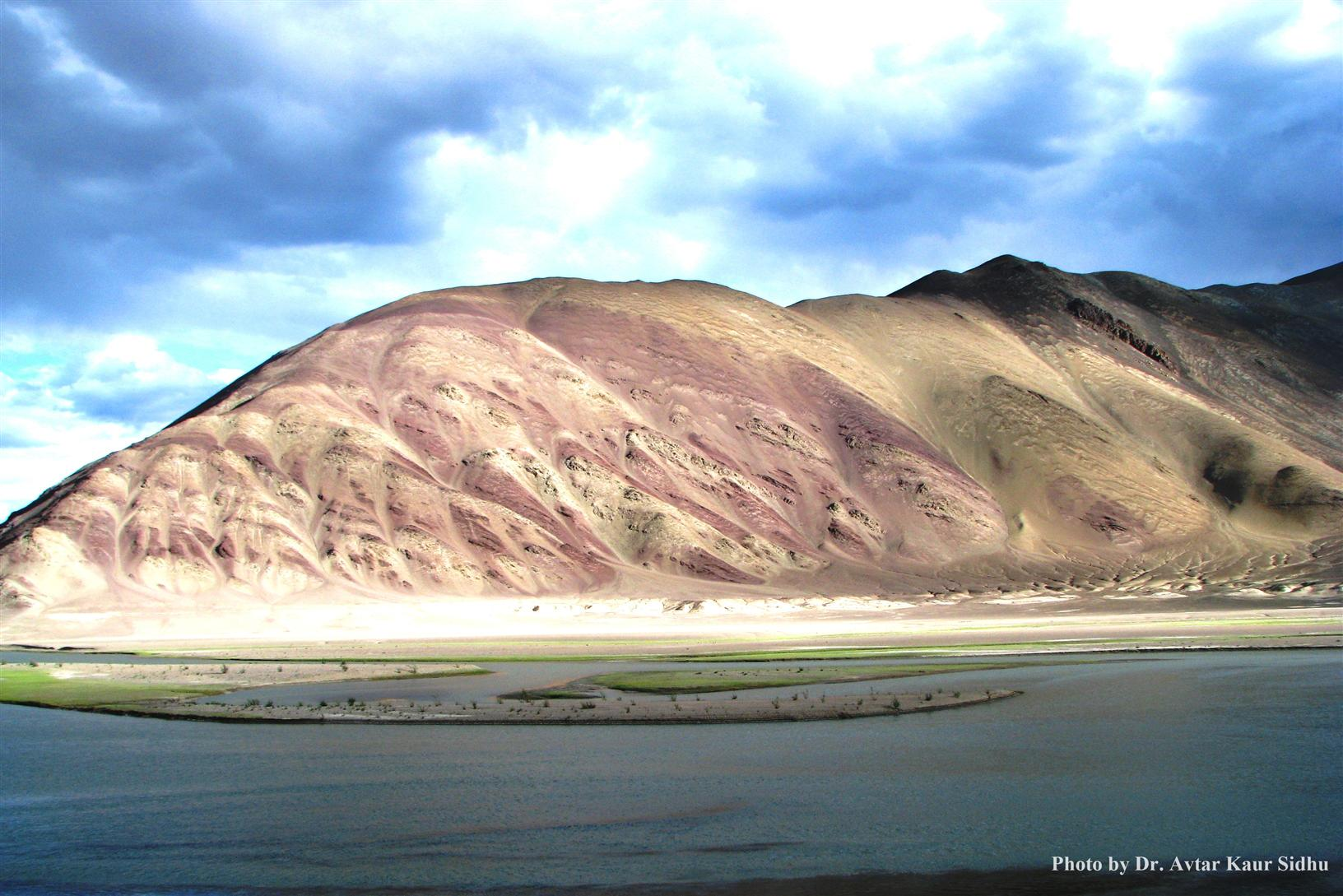 Barren Mountains along Indus River, Ladakh - ZSI