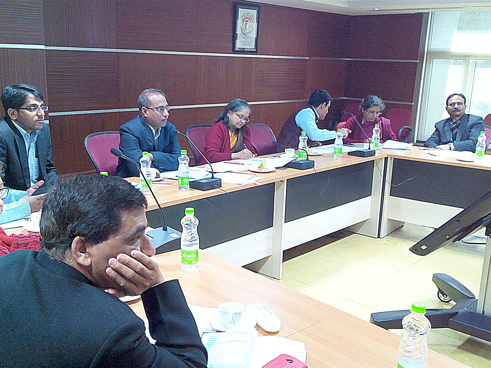 Keen review by MoEF&CC officials during Brain Storming Session