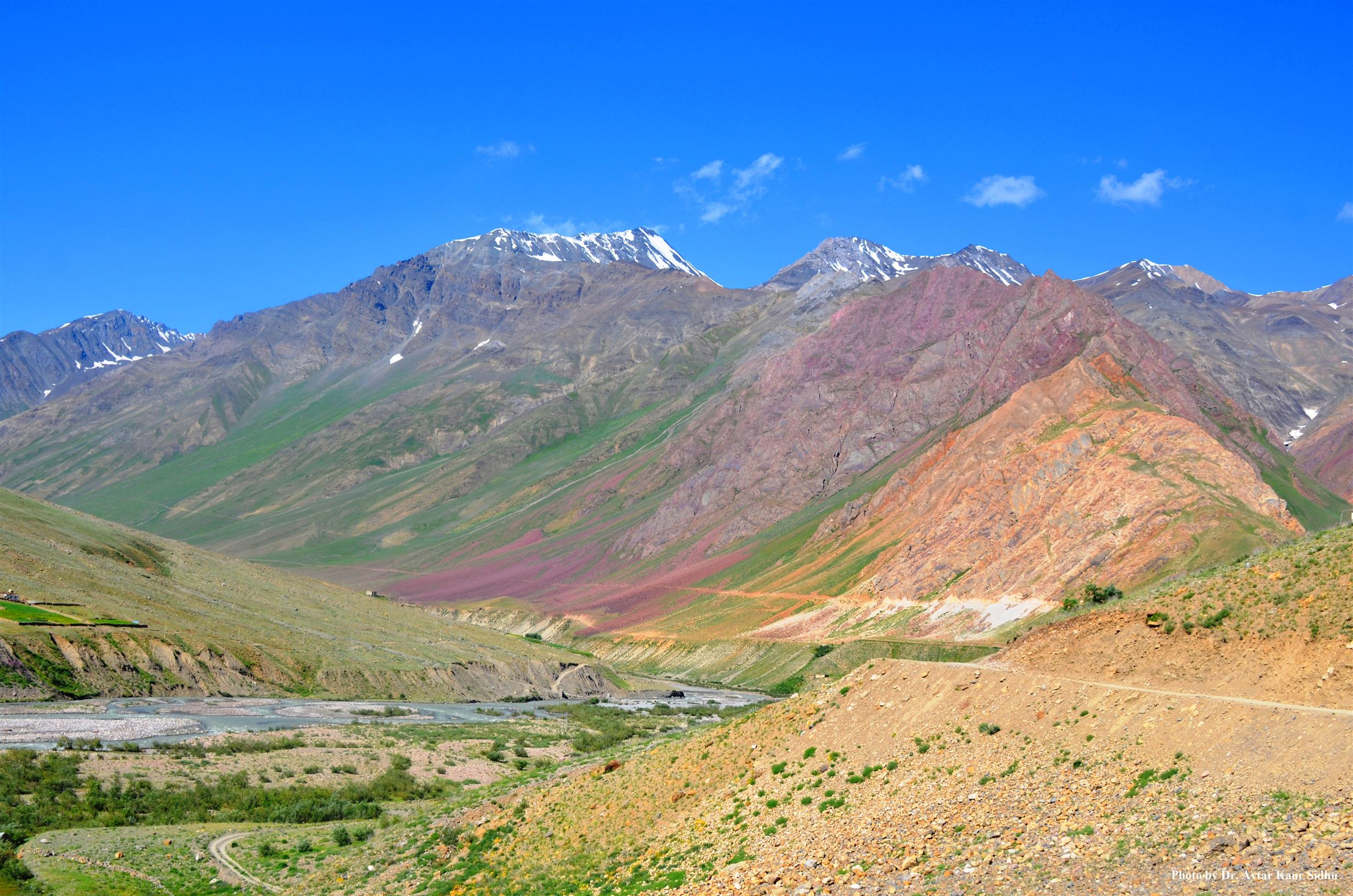 Landscape of Pin Valley National Park, Spiti - ZSI